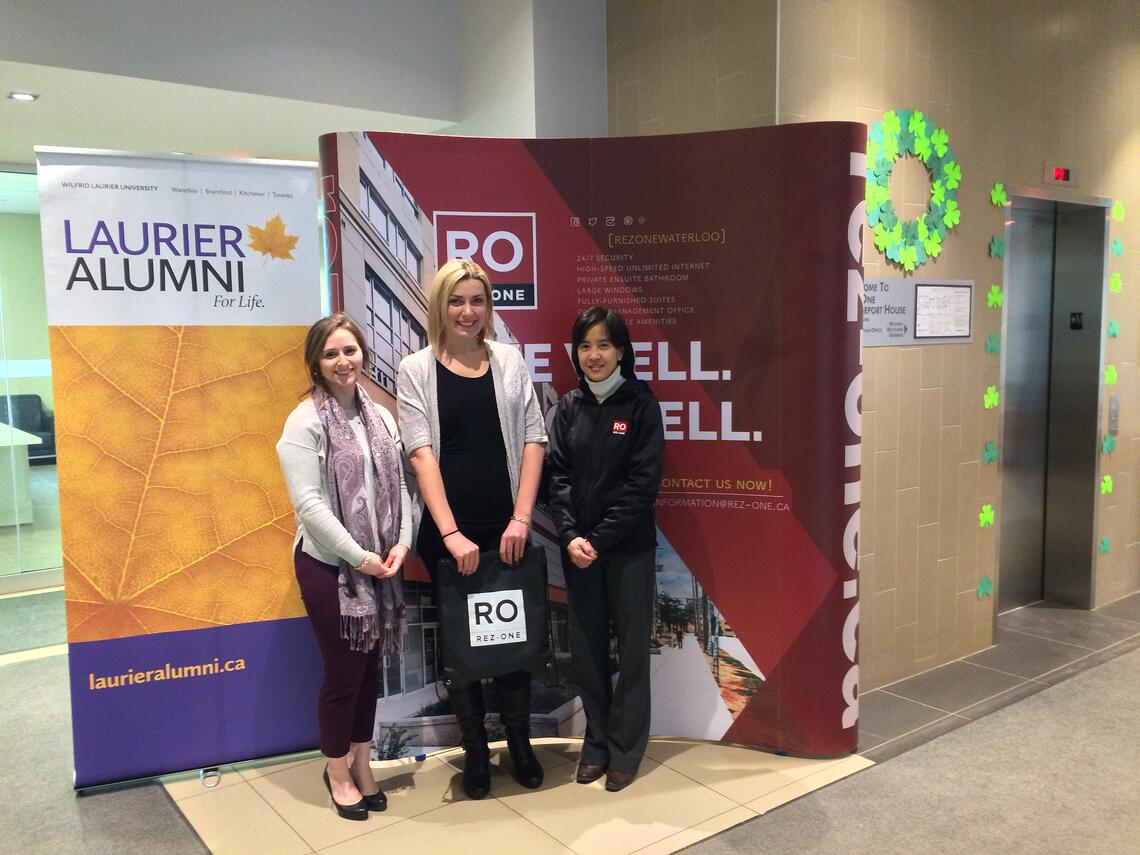 Wilfred Laurier University awards Zana Talijan with first ever Rez-One Live Well Do Well Award